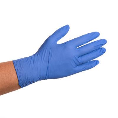 Guantes Nitrilo Fino Azul